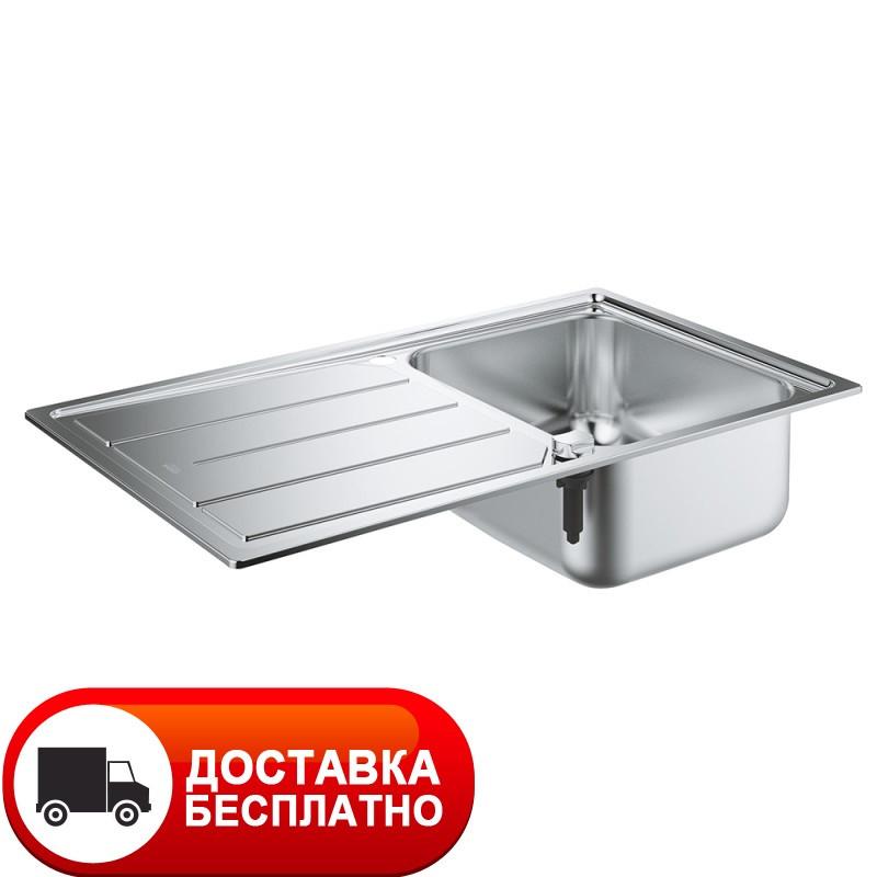 Стальная мойка Grohe EX Sink 31571SD0 серия K500 86*50