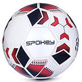 Футбольный мяч Spokey Agilit, размер №5, белый с черно-бордовым рисунком 5