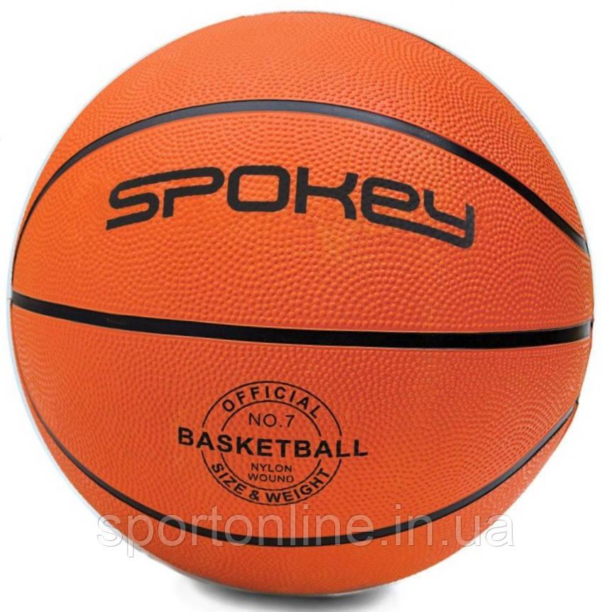 Баскетбольный мяч Spokey CROSS размер №7, оранжевый