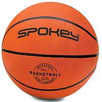 Баскетбольный мяч Spokey CROSS размер №7, оранжевый, фото 1