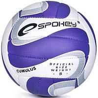 Волейбольный мяч Spokey Cumulus II размер №5, белый с синим рисунком 5, фото 1