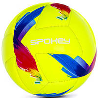 Футбольный мяч Spokey Swift Junior, размер №4, желтый с рисунком, фото 1