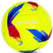Футбольный мяч Spokey Swift Junior, размер №4, желтый с рисунком 4