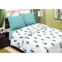 Комплект постельного белья Светящиеся Кактусы, разные размеры