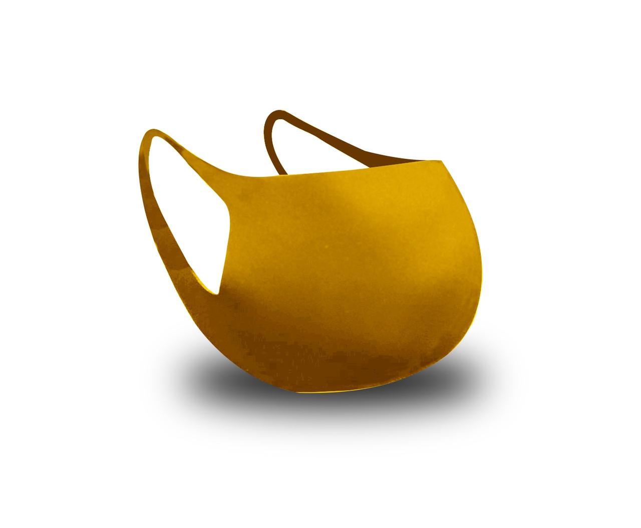 Многоразовая защитная маска для лица Fandy Standart +желтая женская