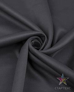 Трикотаж Джерсі темно сірий
