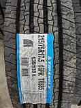 Всесезонні вантажні шини 215/75 R17.5 16PR TRIANGLE TR685 рульова., фото 4