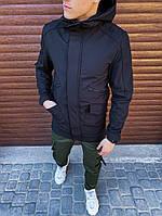Мужская куртка Japan (черная) - XL