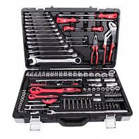 Профессиональный набор инструментов 1-4 дюйма и 1-2 дюйма; 119 ед INTERTOOL ET-7119