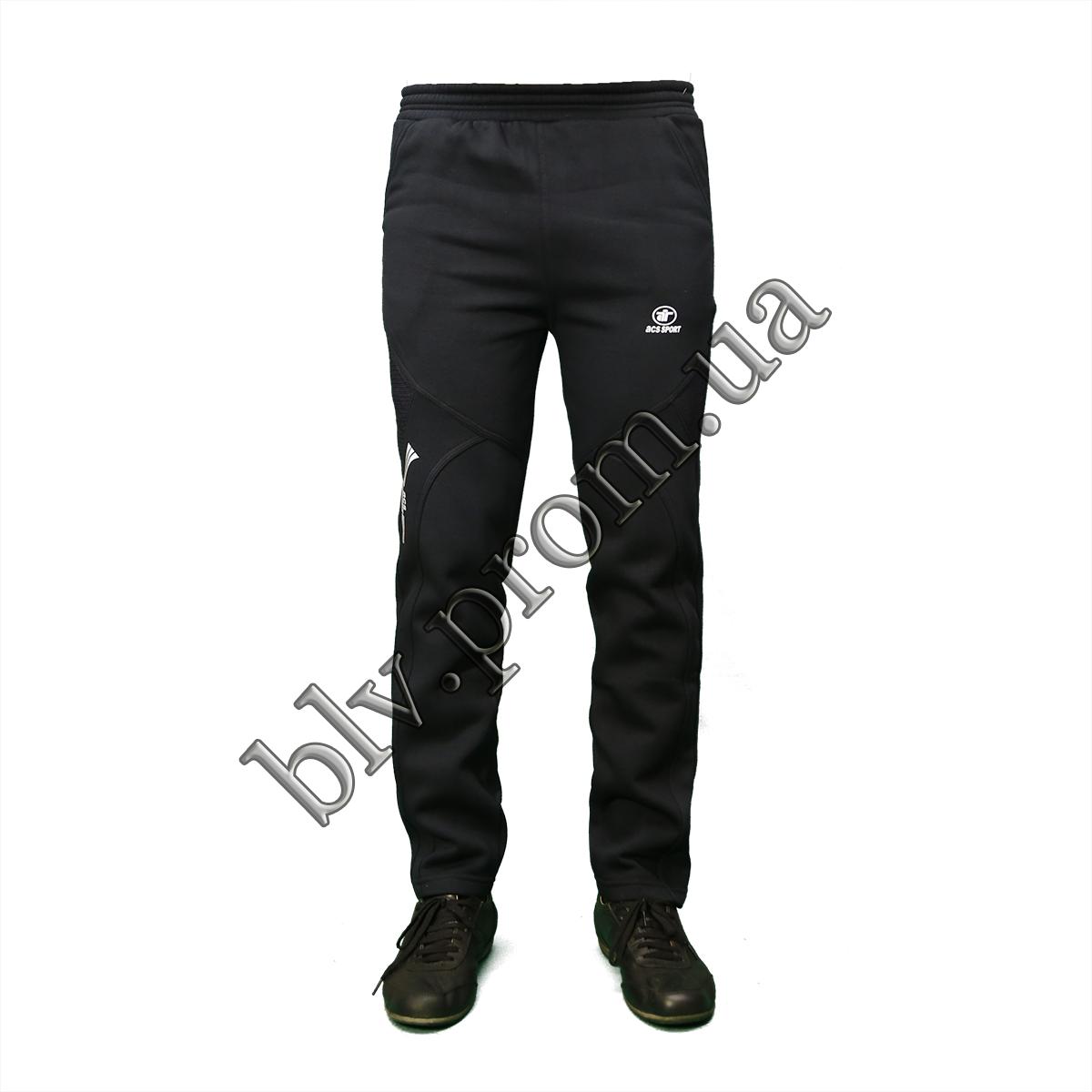 Теплые мужские молодежные брюки байка KD685 Antra