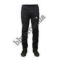 Теплые мужские молодежные брюки байка KD685 Antra, фото 1