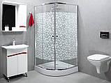 Душова кабіна StarWhite Y-6101 (90х90) низький піддон, малюнок мозаїка, фото 3