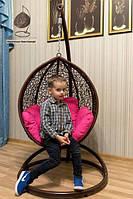 Детское подвесное кресло кокон Кидс на стойке