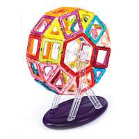 Магнитный конструктор Magnetic land Разноцветный 93 детали (009)