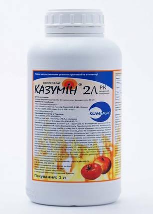 Фунгицид бактерицидный Казумин 2 Л в.р (1 л) — защита против бактериальных заболеваний, фото 2