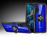 Чехол Primolux Ring Magnetic Stand для Huawei Nova 5T / Honor 20 - Black, фото 2