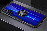 Чехол Primolux Ring Magnetic Stand для Huawei Nova 5T / Honor 20 - Black, фото 4