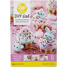 Wilton Набор для украшения капкейков DIY-Lish Gummy Cupcake