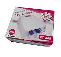 Уфо лампа для ногтей KT-888 | Лампа для сушки гель-лака 36W