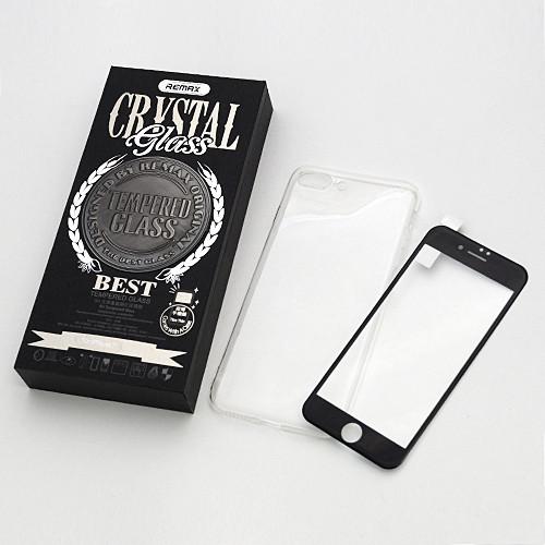 Комплект Remax Crystal Set Black (стекло + чехол) для IPhone 6/6s