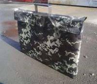 Чехол на мангал чемодан на 12 шампуров