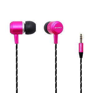 Наушники AWEI ES-Q35 Pink