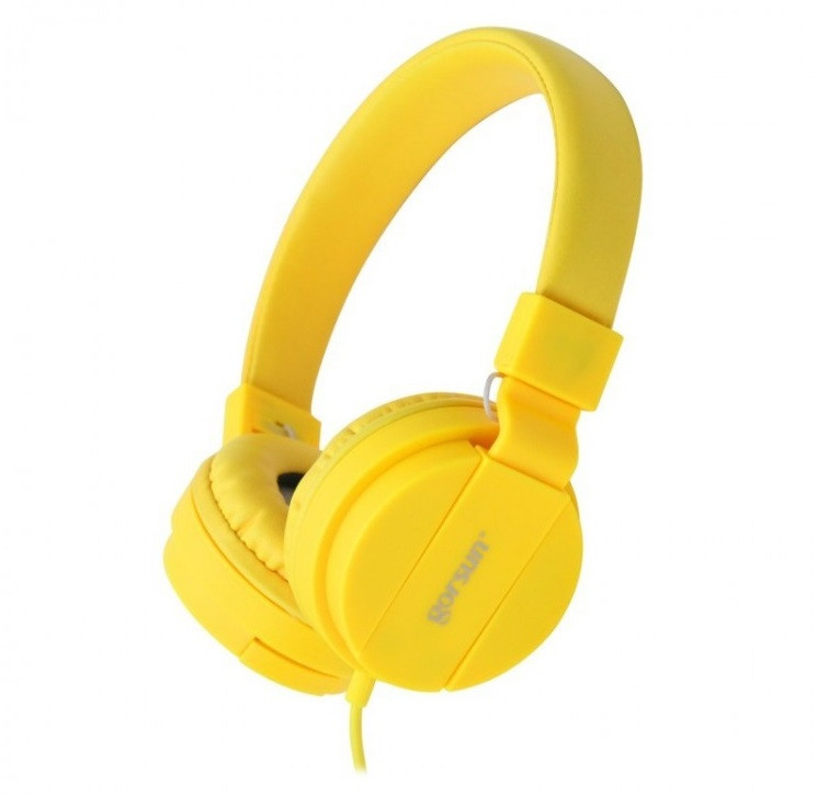 Наушники gorsun GS-778 yellow