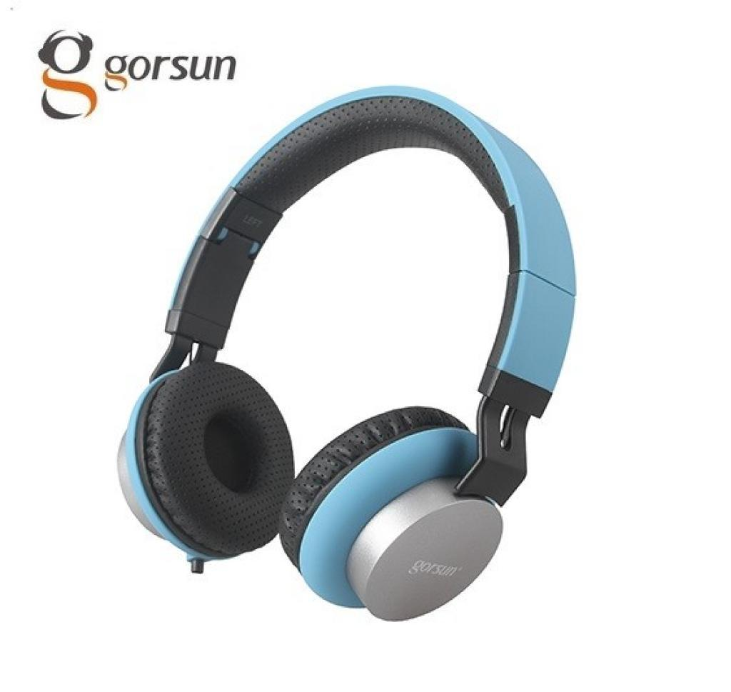 Наушники gorsun GS-789 blue