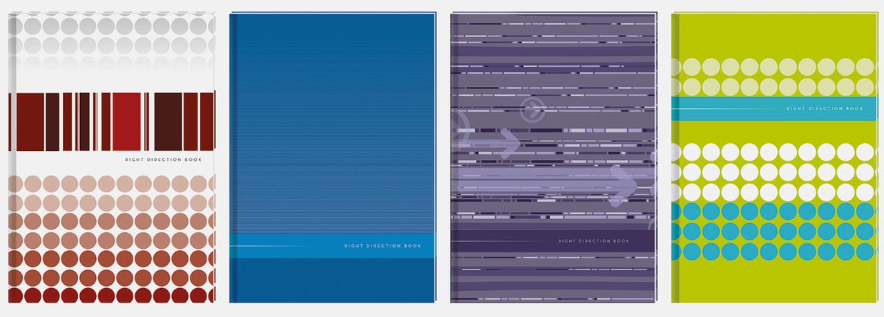 Блокнот в твердом переплете А4, клетка, 96 листов, Interdruk