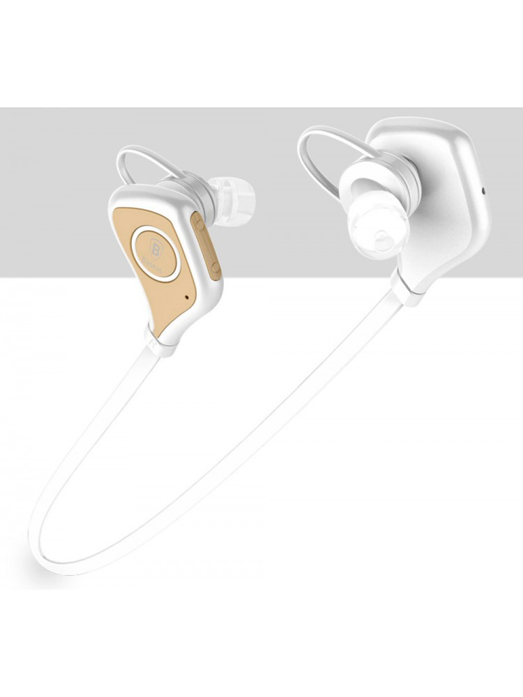 Bluetooth Наушники BASEUS Musice Series Sport Bluetooth Headphone White Gold
