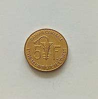 5 франков Западная Африка 2007 г., фото 1