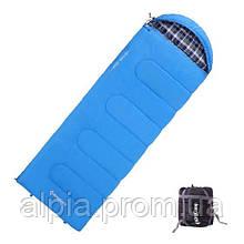 Спальный мешок KingCamp Oasis 250/+7°C, синий (R)