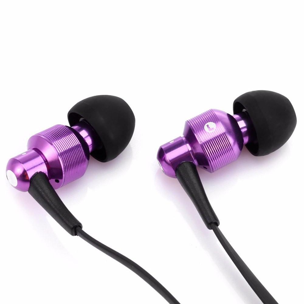 Наушники гарнитура вакуумные Awei ES500i Purple