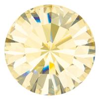 Пришивные стразы в цапах Preciosa (Чехия) ss47 Crystal Blond Flare/золото