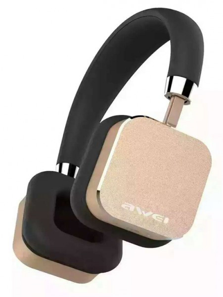 Наушники гарнитура накладные Awei A900Hi Gold