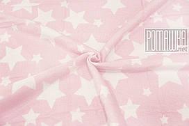 Плотный 100х90 см хлопковый байковый флисовый детский плед одеяло для новорожденных малышей детей 4837 Розовый