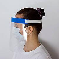 Медицинский защитный экран, маска, щиток для лица. Высокий уровень защиты от вирусов.