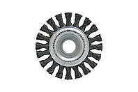 Щетка дисковая Housetools - 200 мм, плетеная