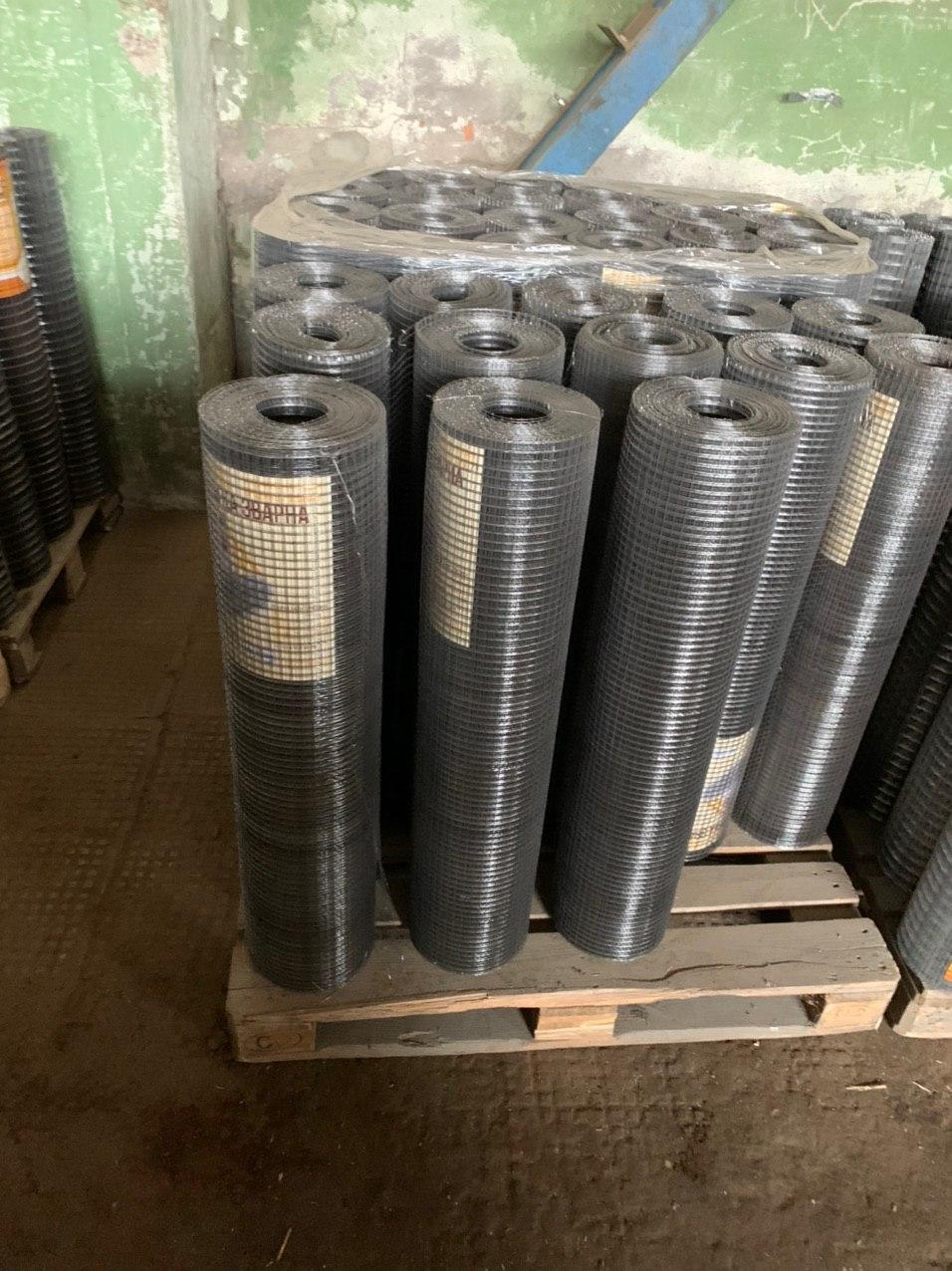 Сетка Сварная оцинкованная 50х25 мм Ø 1.80 мм высота 1,5 м рулон 30 м