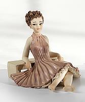 """Фарфоровая коллекционная статуэтка (кукла) """"Селина"""" от Sibania"""
