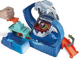 """Ігровий набір Hot Wheels Голодна Акула-робот із серії """"Зміни колір"""""""