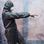 Захисний комбінезон великого розміру багаторазовий. Дезінфекція, польові, фарбувальні роботи., фото 6