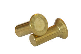 Заклепка под молоток латунная DIN 661