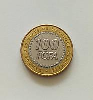 100 франков Центральная Африка 2006 г., фото 1