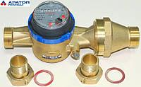 """Водосчетчики Apator Powogaz JS-10  ХВ Ду-40 1 1/2"""" на холодную воду одноструйные крыльчатые сухоходы для домов"""