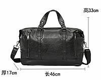 Мужская кожаная сумка. Модель 2228, фото 8