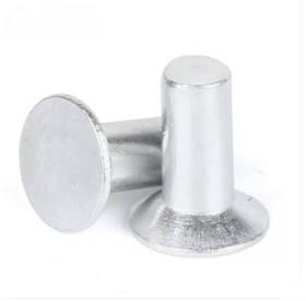 Заклепка под молоток алюминевая DIN 661