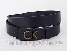 Мужской кожаный ремень CK