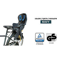 Детское велокресло Tilly T-841с установкой позади сиденья (38*27*86см до 22 кг)