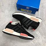 Стильні жіночі кросівки Adidas NMD Runner, фото 5